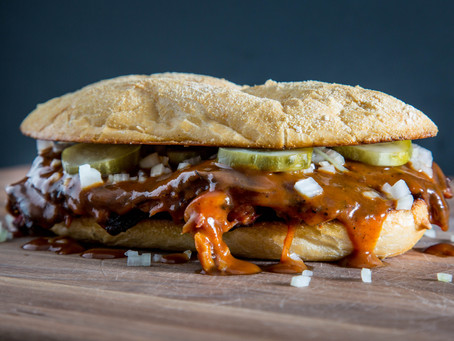 how to make the McRIB SANDWICH