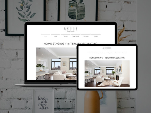 Website Redesign for Staging + Design Firm