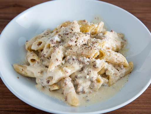 how to make creamy PASTA ALLA NORCINA