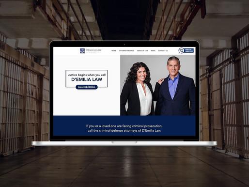 Law Firm Company Rebrand & Web Design