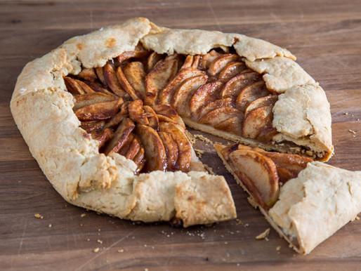 APPLE PIE GALETTE...a free-form, rustic, less fancy apple tart