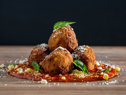 how to make RISOTTO BALLS with LEFTOVER RISOTTO (Arancini)