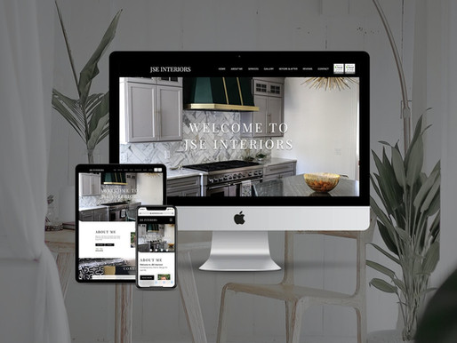 Interior Design Website Redesign
