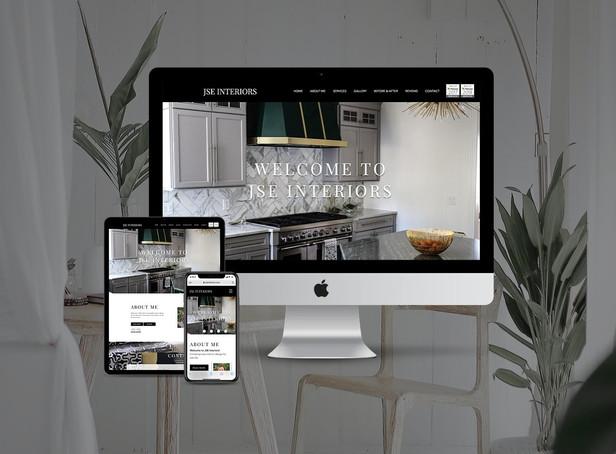 Interior Design Website Redesign