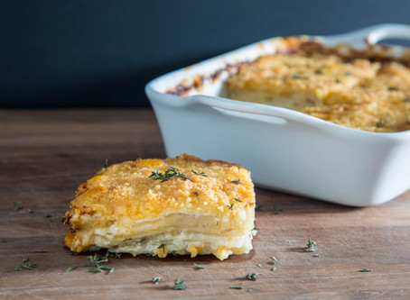 how to make AMAZING POTATOES AU GRATIN