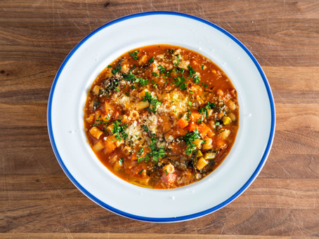 how to make EASY MINESTRONE SOUP