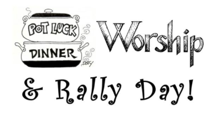 Worship & Rally Day!