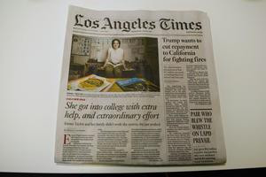 PCS Alum Featured in the LA Times!