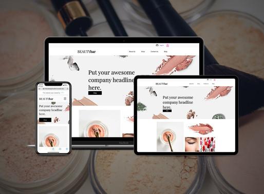 eCommerce Pre-Designed Template