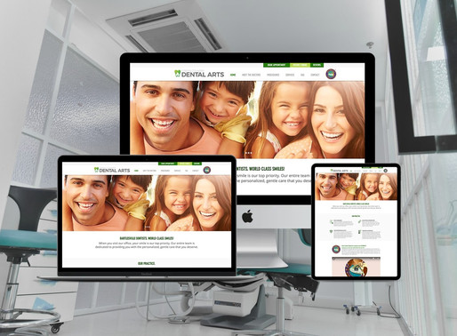Company Rebrand & Web Design for Dental Practice