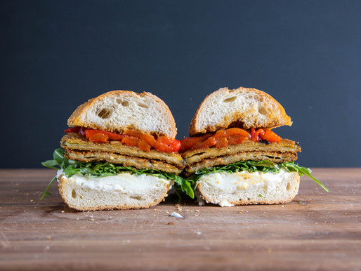 the GREATEST VEGETARIAN sandwich