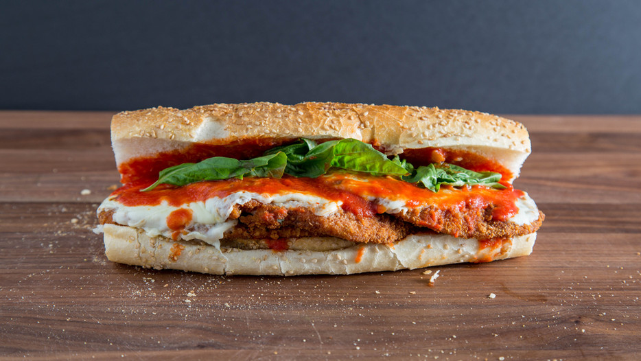 The GREATEST CHICKEN PARM wedge