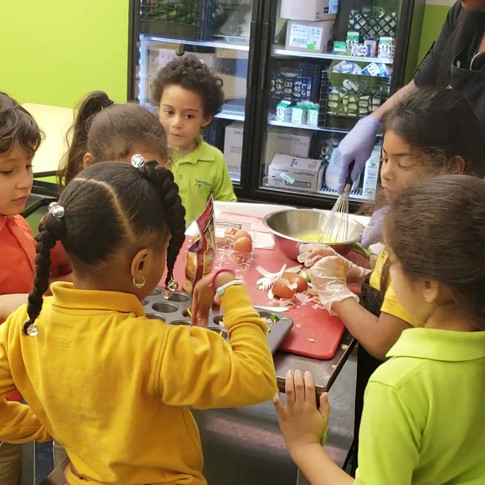 Cooking Class for Lenox Avenue Early Learn