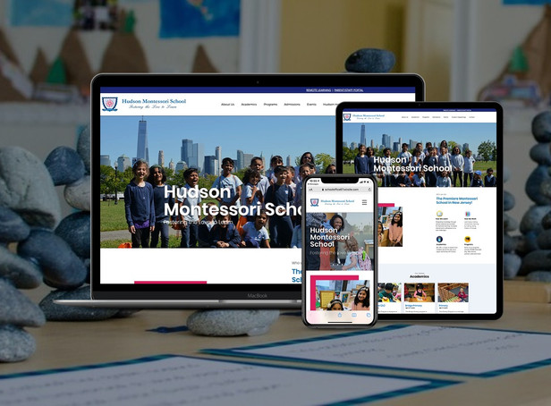 Montessori School Website Redesign