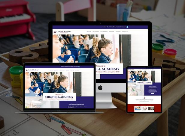 Daycare/Preschool Website Redesign