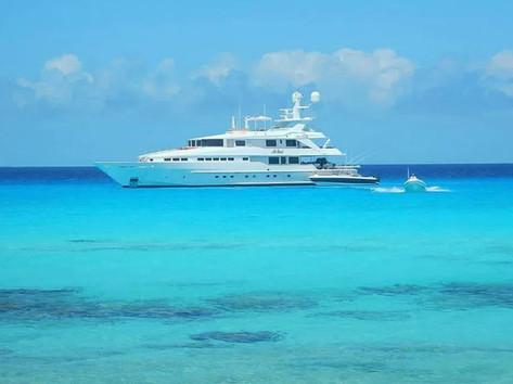 Boating in Bahamas
