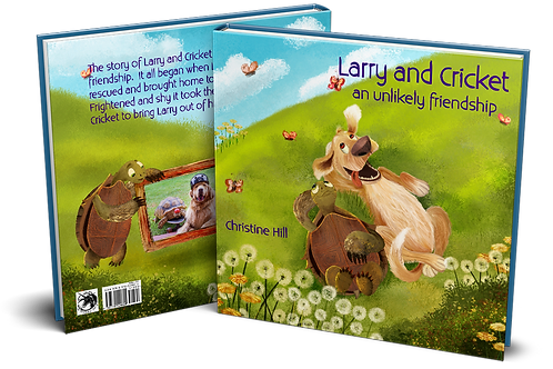 Larry and Cricket an Unlikely Friendship Book