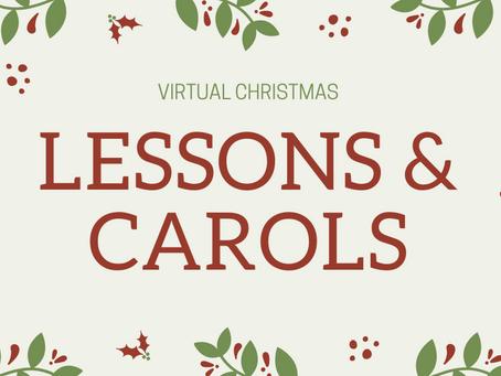 Virtual Christmas Lessons & Carols