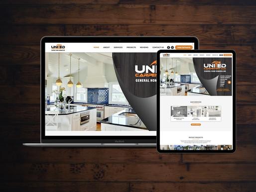 General Contractor Website Design for Home Renovations & Remodeling