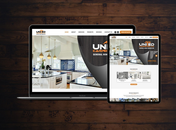 General Contractor Website Design for Home Renovations & Remodeling