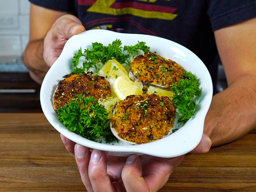 HOW i make STUFFED CLAMS that are NOT CHEWY