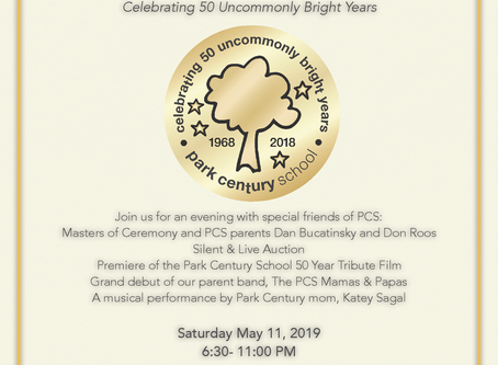 "Tickets Now Available for PCS 50th Anniversary Gala - ""A Golden Anniversary"""