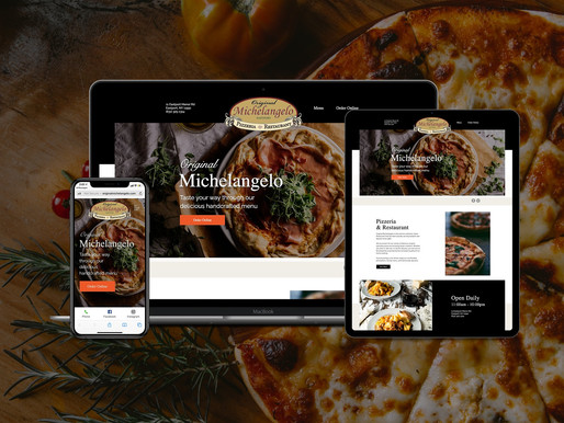 Italian Restaurant Website with 3rd Party Integrations