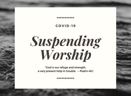 Suspending Worship