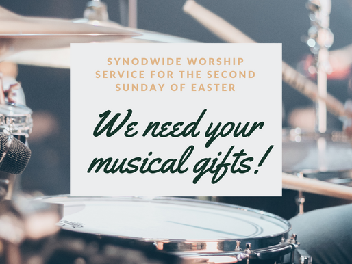 Synodwide Worship service for the Second Sunday of Easter