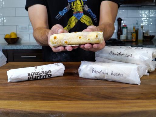 McDonald's Style BREAKFAST BURRITOS in 30 seconds