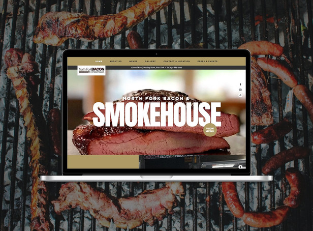 BBQ & Smokehouse Website Design