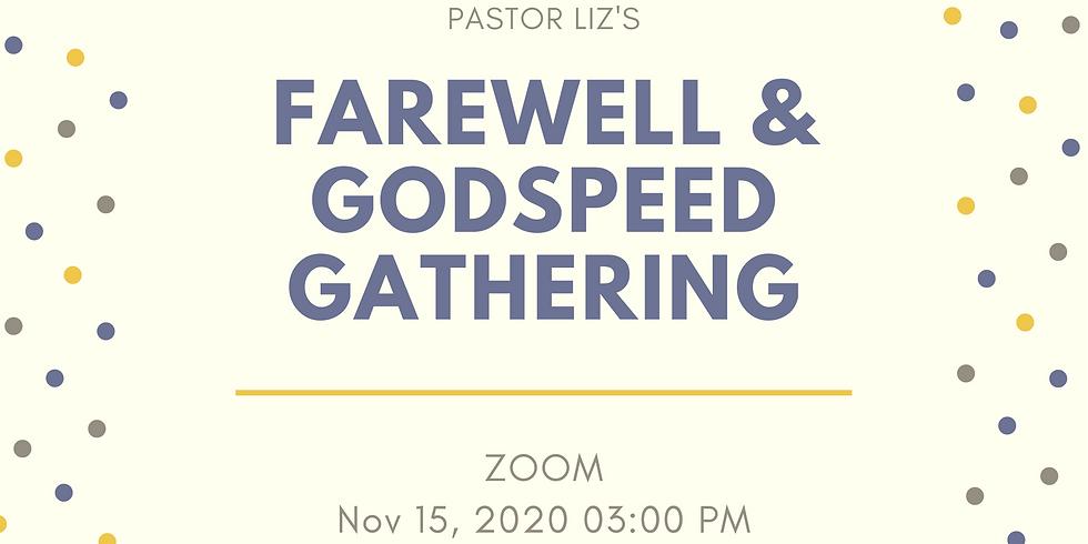 Pastor Liz's Farewell and Godspeed Gathering