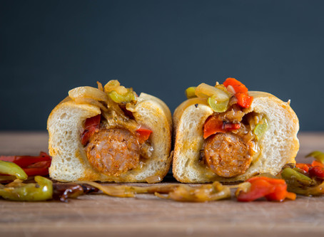 the best ITALIAN SAUSAGE AND PEPPERS