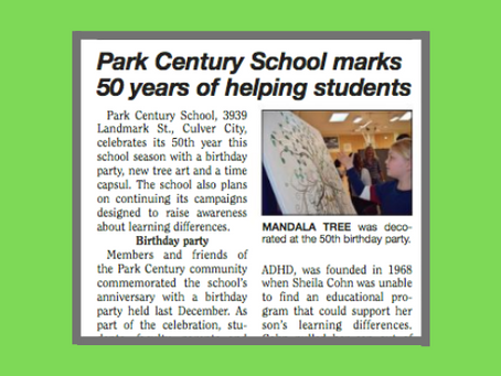 PCS Featured in Larchmont Chronicle!