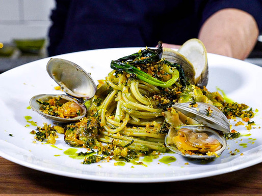 SPAGHETTI alle VONGOLE with wild RAMPS