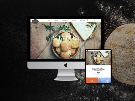 Custom eCommerce Website for Gourmet Cheese Puffs