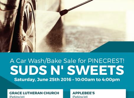 Car Wash/Bake Sale Fundraiser!