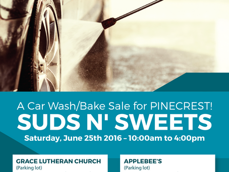 Car Wash/Bake Sale Fundraiser!