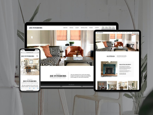 JSE Interiors Website Refresh