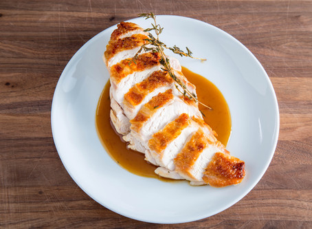 USE THIS TECHNIQUE to make JUICY ROASTED CHICKEN BREASTS