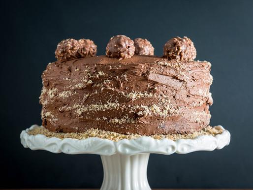 how to make a CHOCOLATE HAZELNUT CAKE
