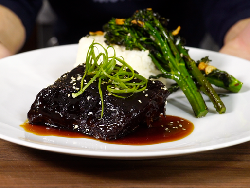 SOY braised SHORT RIBS...my favorite dish from HAWAII by chef Alan Wong