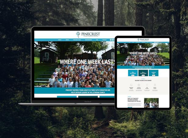 Branding & Website for Summer Leadership Camp