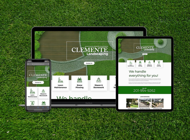 Anchor One-Page Landscaping Website