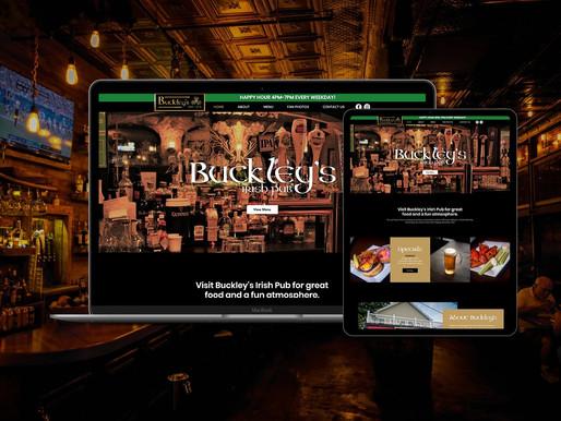 Website Redesign for Irish Pub