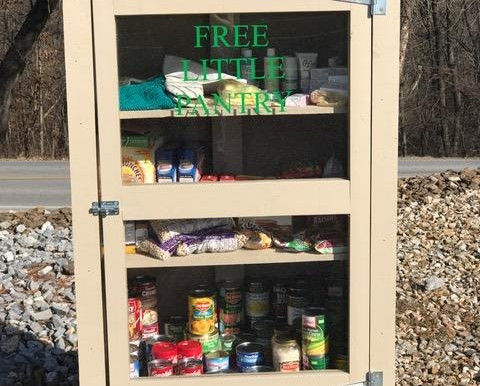 "Please Send Your ""Little Free Pantry"" or ""Blessing Box"" Photos!!"