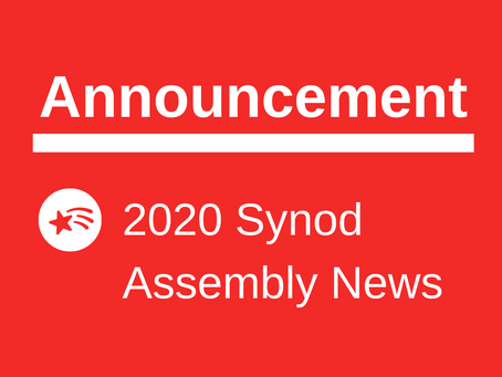 2020 Synod Assembly News