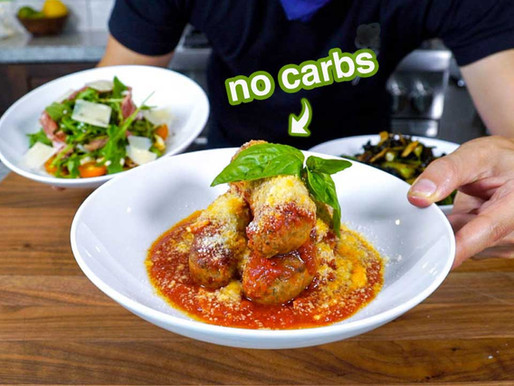 what an ITALIAN eats ON A DIET No Carb Italian Feast