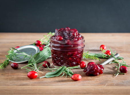 how to make a MAPLE BALSAMIC CRANBERRY SAUCE (OR JAM)