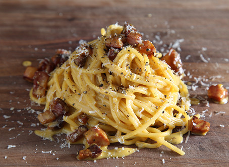 how to make AUTHENTIC CARBONARA sauce